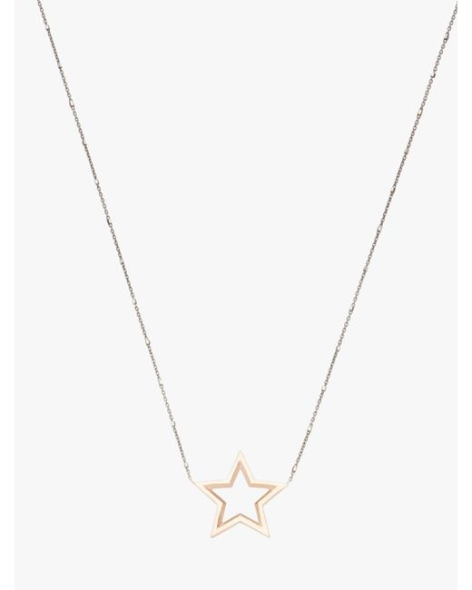 Kwiat - Metallic Star Necklace - Lyst