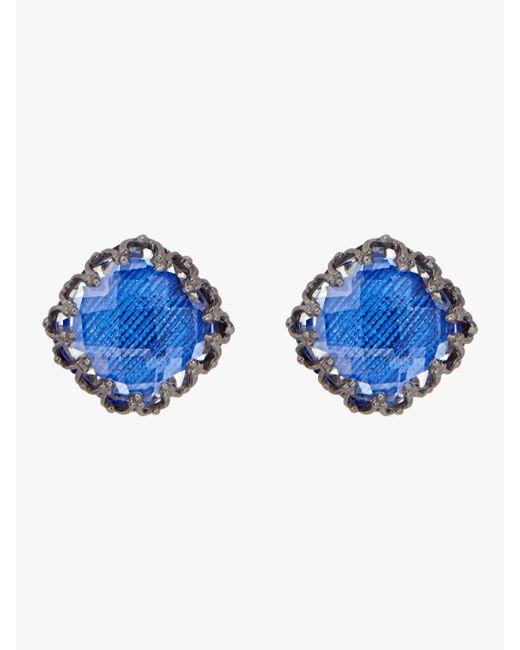 Larkspur & Hawk - Blue Jane Large Post Earrings - Lyst