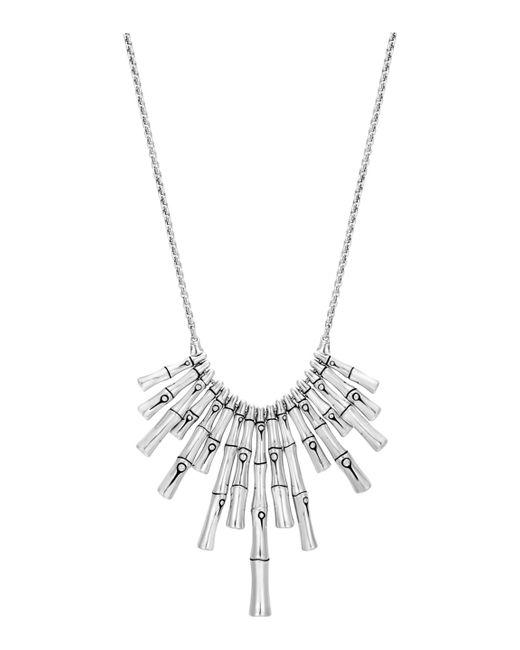 John Hardy - Metallic Bamboo Pendant Necklace - Lyst