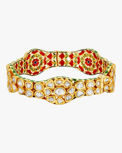 Amrapali - Multicolor Diamond Bangle Bracelet - Lyst