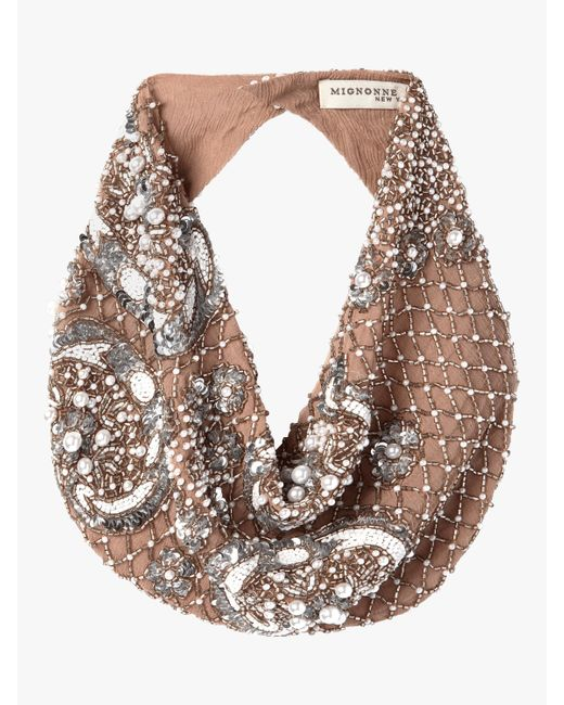 Mignonne Gavigan - Natural Le Charlot Pearl Scarf Necklace - Lyst