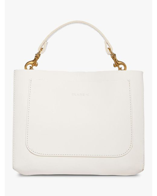 Clare V. - White Brique Crossbody Bag - Lyst