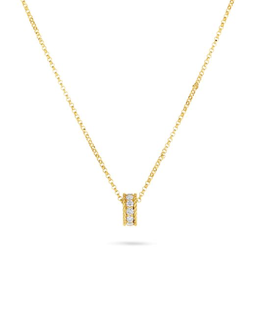 Roberto Coin - Metallic Symphony Braided Pendant Necklace - Lyst