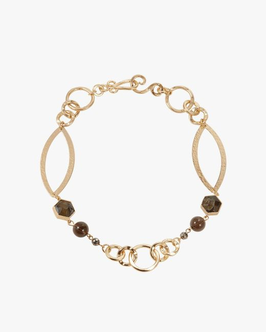 Stephanie Kantis - Metallic Peace Necklace - Lyst