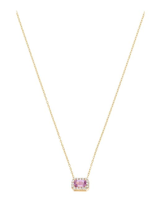 Alison Lou - Metallic S Diamond Necklace - Lyst