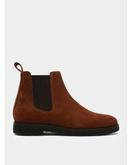 ETQ Amsterdam | Brown Cognac Nero Chelsea Boot for Men | Lyst