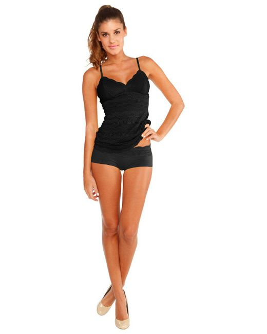 Cosabella - Black Dolce Long Camisole - Lyst