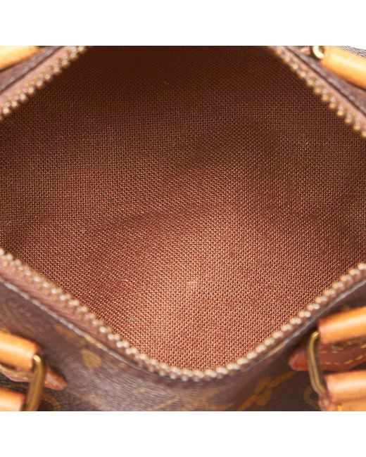 740abbb728a4 ... Louis Vuitton - Brown Monogram Mini Speedy - Lyst ...