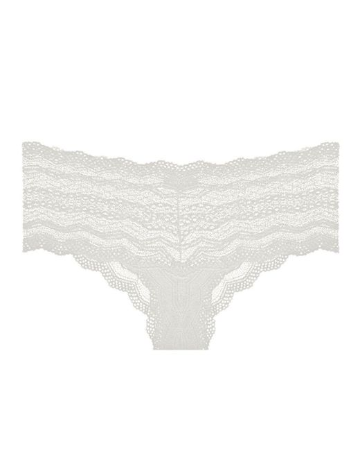 Cosabella - White Ceylon Lowrider Lace Hotpant - Lyst