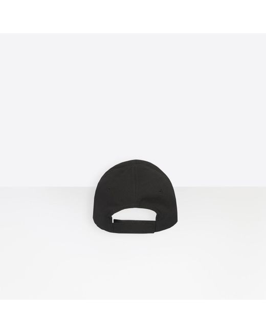 c6976ff3 ... Balenciaga - Black Cap - Lyst ...