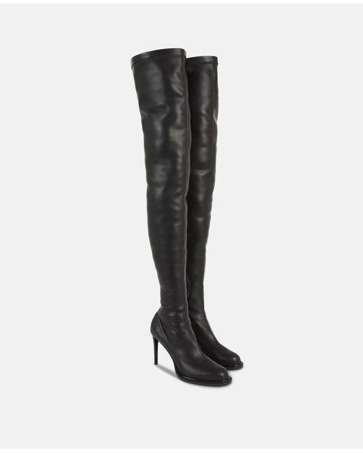 def0b31a8ef ... Stella McCartney - Black Thigh-high Boots - Lyst ...