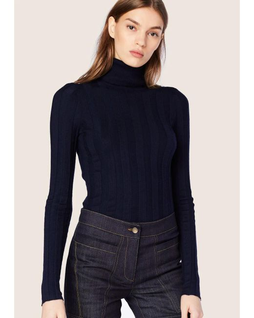 Derek Lam - Blue Inez Long Sleeve Turtleneck - Lyst