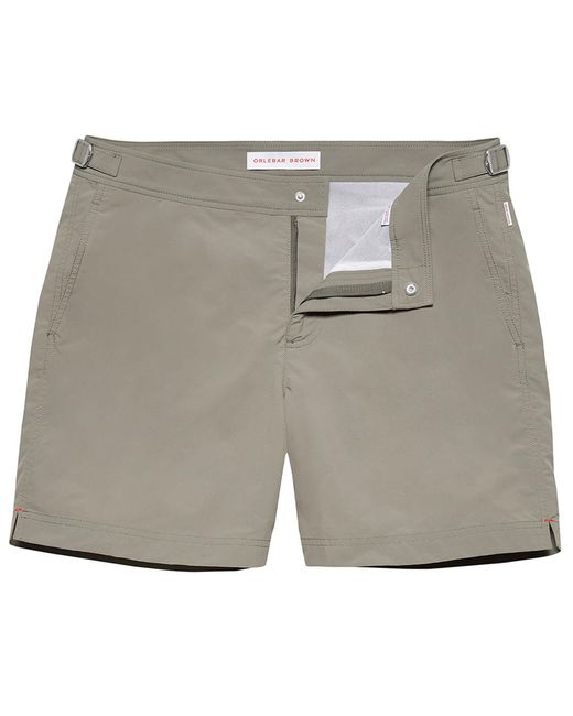 Orlebar Brown - Gray Bulldog Mittellange Badeshorts In Storm for Men - Lyst