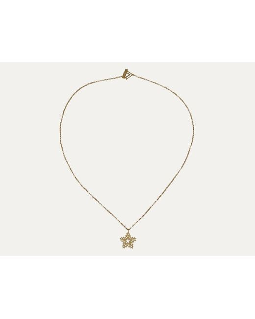 Zoe & Morgan | Metallic Gold Dreaming Necklace | Lyst