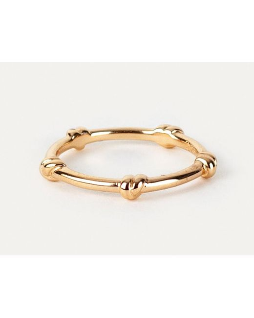 Davina Combe | Metallic Gold Knot Ring | Lyst