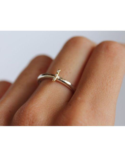 Lumo   Metallic Emille Ring   Lyst