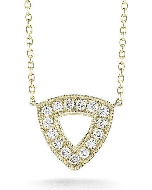 Dana Rebecca | Yellow Emily Sarah Triangle Necklace | Lyst