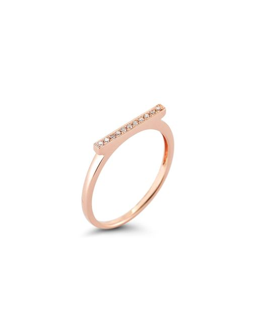 Dana Rebecca | Pink Sylvie With Diamond Ring | Lyst