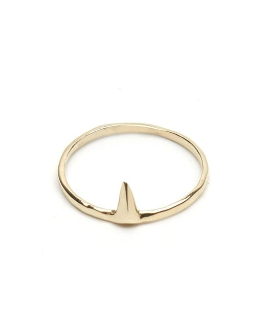 Odette New York | Metallic 14k Petite Spear Ring | Lyst