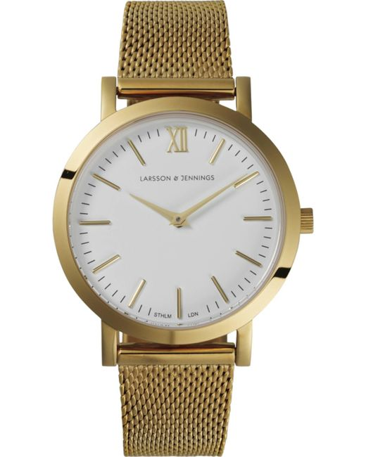 Larsson & Jennings | Metallic Lugano 33mm Watch | Lyst