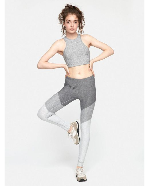 Outdoor Voices - Gray Athena Crop - Lyst