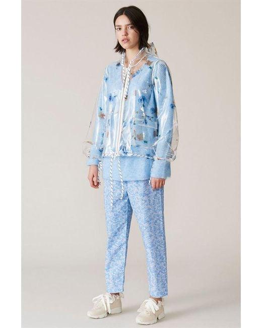 Ganni - Blue Petunia Jacket - Lyst