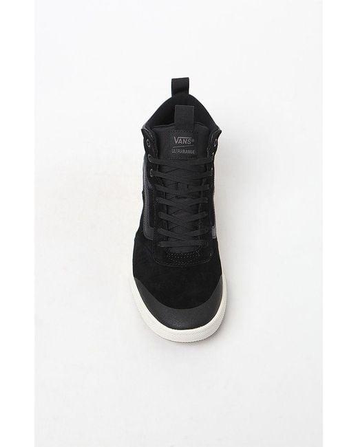 bae64b20cac Lyst - Vans Ultrarange Hi Mte Black Shoes in Black for Men - Save 53%