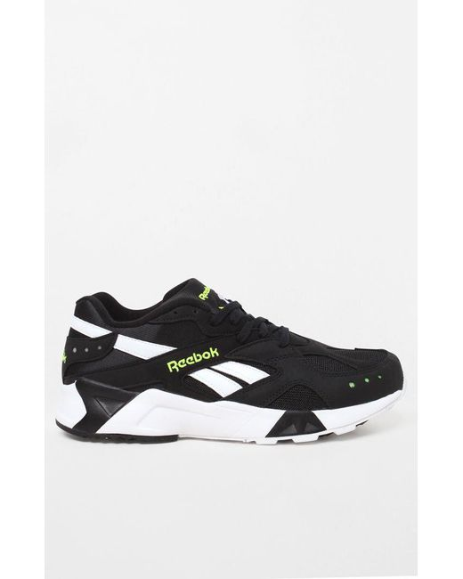 Lyst - Reebok Aztrek Black   White Shoes in Black for Men - Save 21% 1cc0b86b6