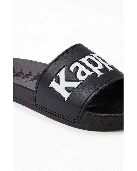 6719befada59 ... Kappa - Black 222 Banda Adam 9 Slide Sandals for Men - Lyst ...