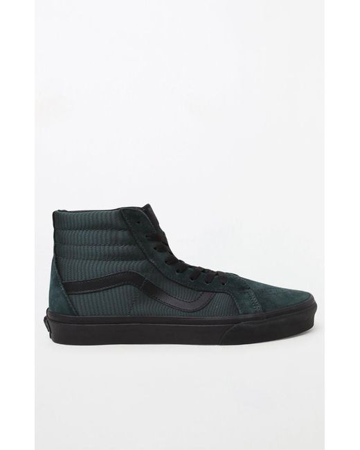 dbc17358607048 ... Vans - Green Emerald Sk8-hi Metallic Twill Shoes for Men - Lyst ...