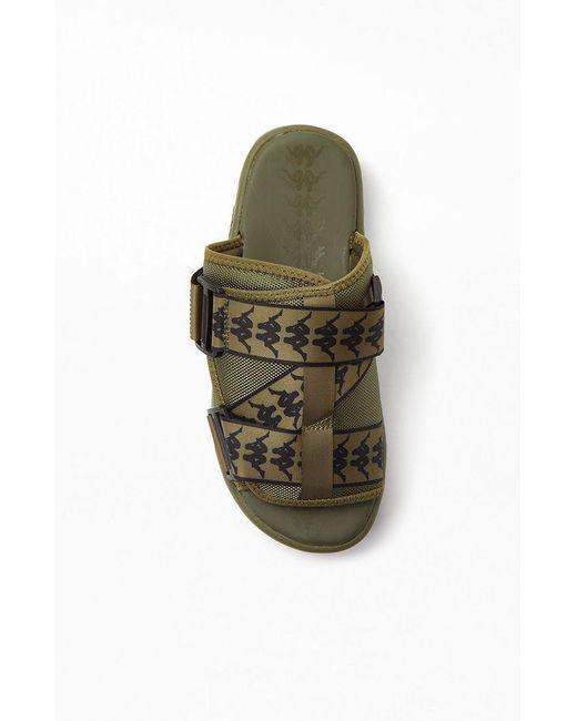 08cbbf1cff19 ... Kappa - Green 222 Banda Mitel 1 Sandals for Men - Lyst ...