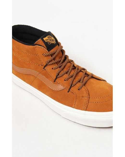 abb4e909ad6 ... Vans - Brown Sk8-mid Reissue Ghillie Mte Shoes (high-top Trainers) ...