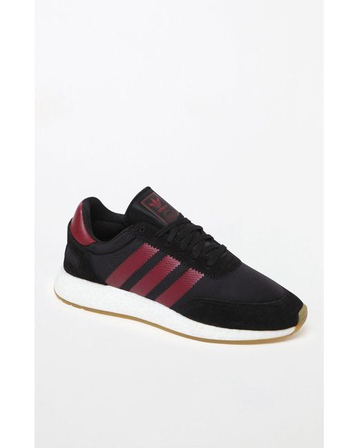 adidas burgundy trainers