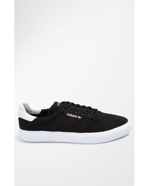 7c0277d0408c Lyst - Adidas 3mc Vulc Black   White Shoes in Black for Men
