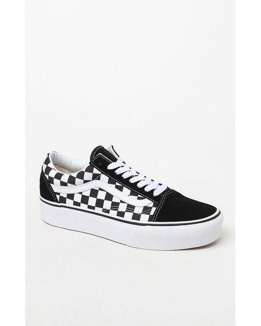 vans damen checkerboard old skool