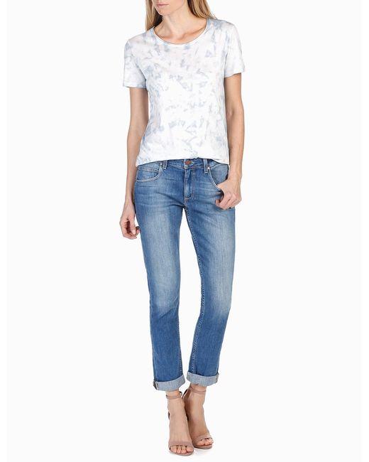 PAIGE | Blue Rosie Hw X Collection Cassandra Shirt | Lyst