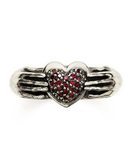Pamela Love | Metallic Pave Aeternum Ring | Lyst
