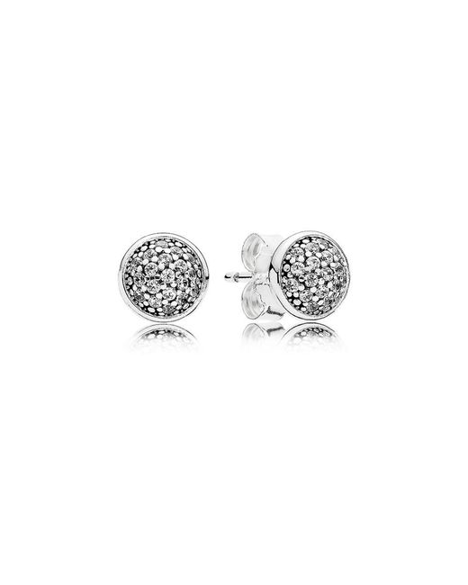 Pandora - Multicolor Dazzling Droplets Stud Earrings - Lyst