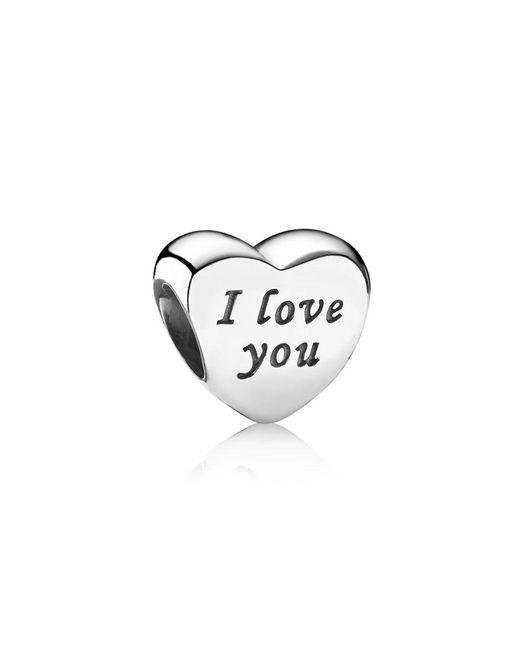 Pandora - Multicolor Words Of Love Charm - Lyst