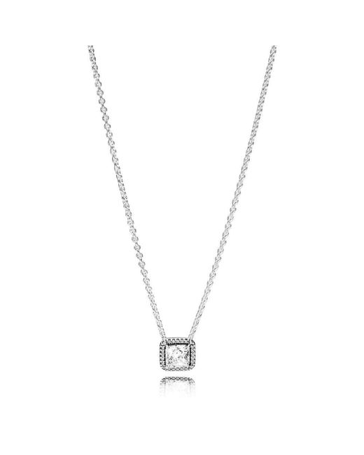 Pandora - Metallic Timeless Elegance Necklace - Lyst
