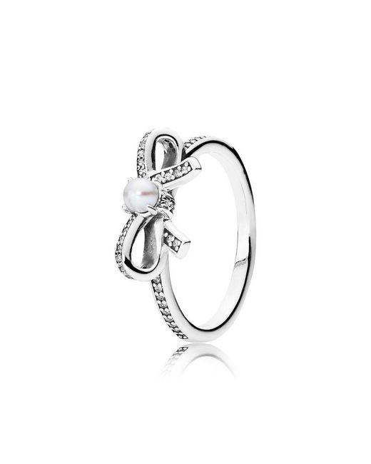 Pandora | Metallic Delicate Sentiments Ring | Lyst