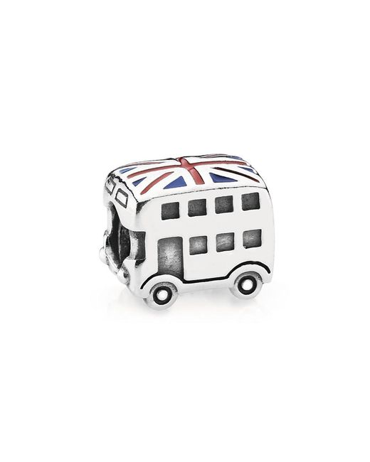 Pandora - Multicolor Union Jack Bus Charm - Lyst