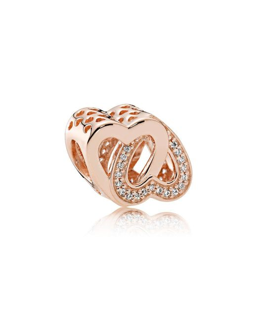 Pandora - Multicolor Entwined Love Charm - Lyst