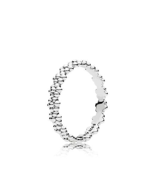 Pandora | Metallic Ring Of Daisies | Lyst