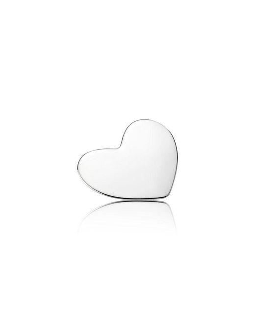 Pandora | White Heart Locket Plate - Medium | Lyst