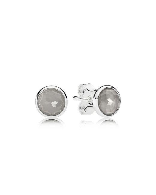 Pandora - Multicolor June Droplets Stud Earrings - Lyst