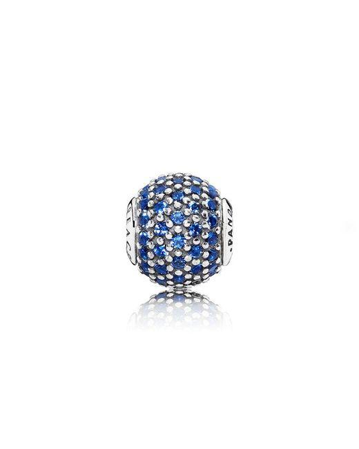 Pandora - Blue Essence Peace Charm - Lyst