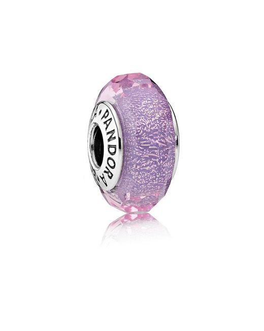 Pandora   Purple Shimmer Murano Charm   Lyst