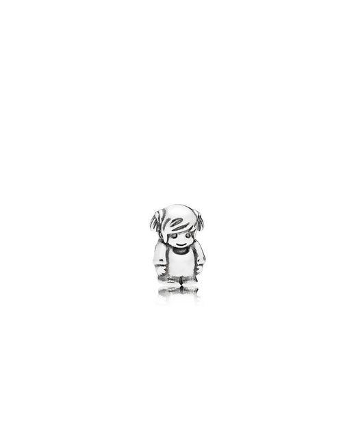 Pandora - Multicolor Little Girl Petite Locket Charm - Lyst