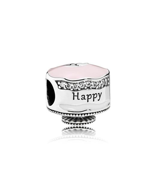 Pandora - Multicolor Happy Birthday Cake Charm - Lyst